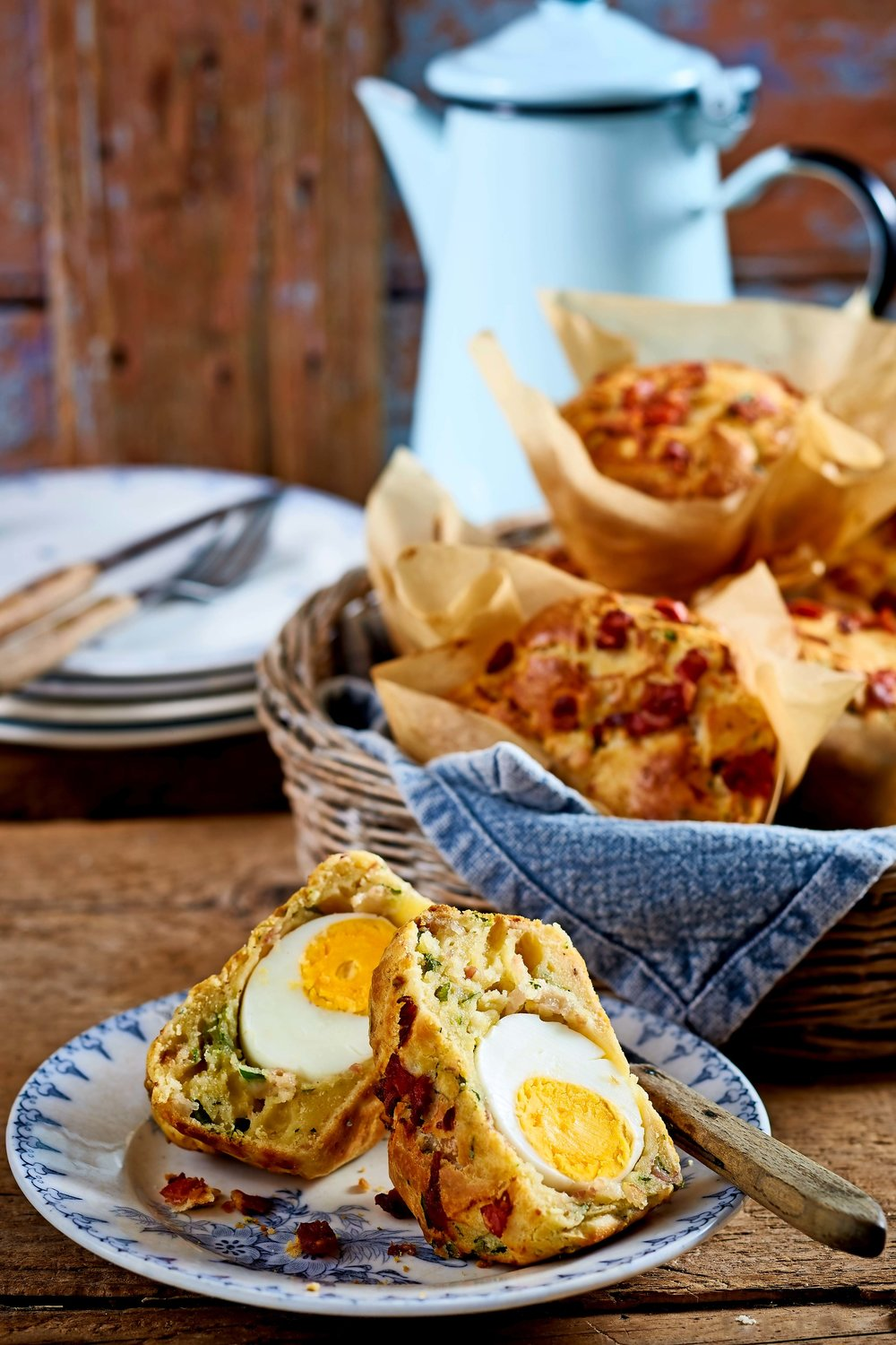 Served with coffee for brunch or as a savoury picnic treat, these muffins make a tasty, filling snack. From the April 2018 issue of LandScape