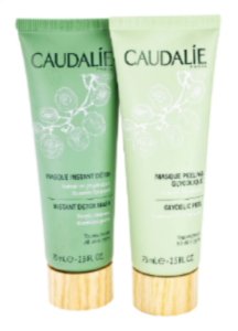 Subscribe this month and get 2 caudAlie face masks