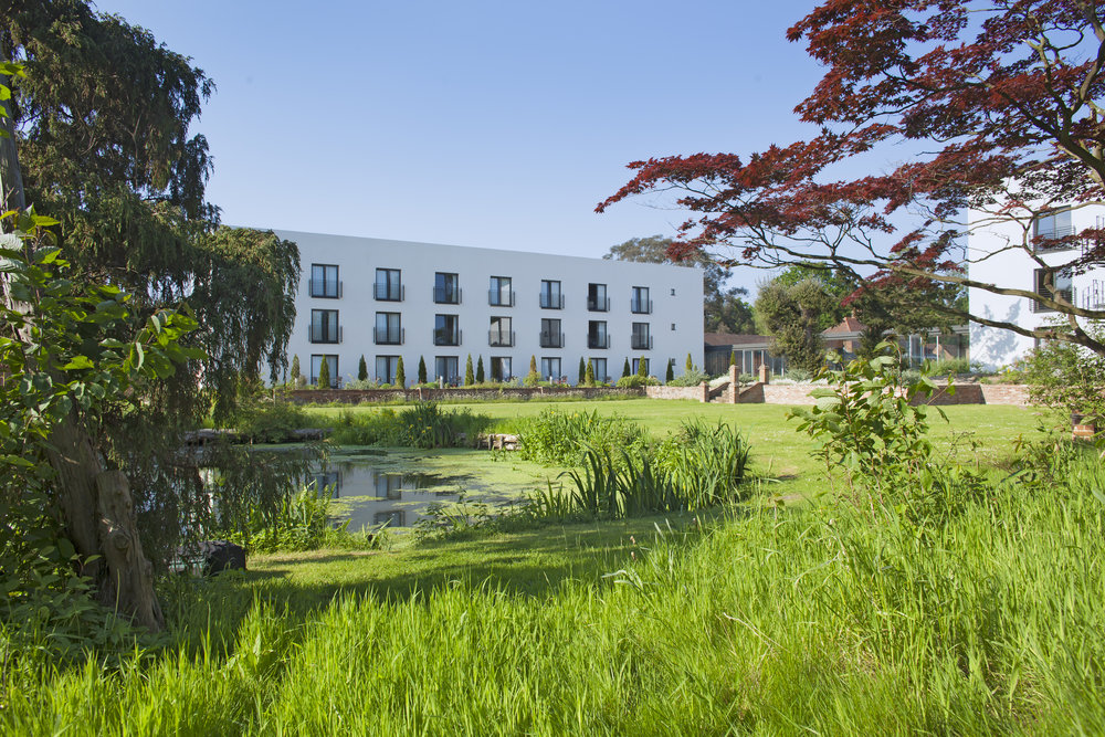 Lifehouse is surrounded by 12 acres of historic gardens
