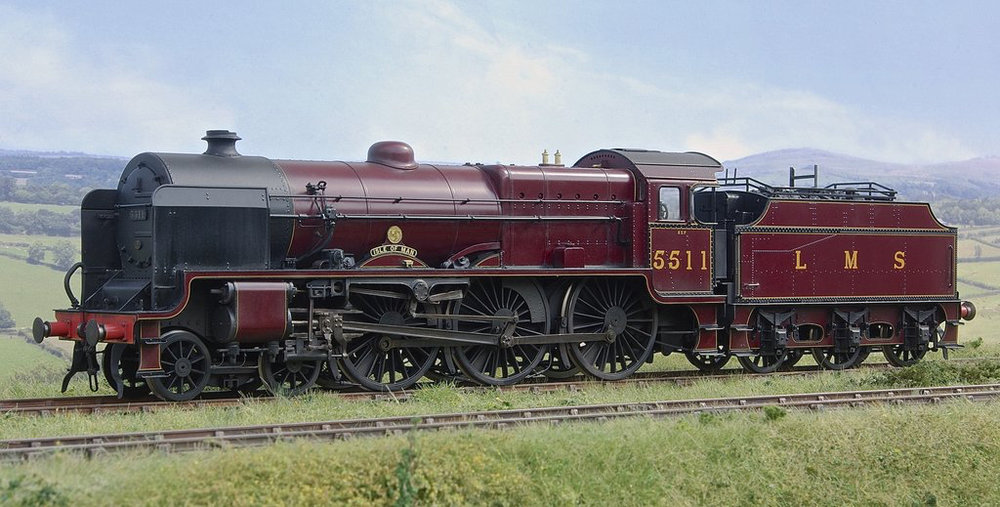 This is what the new 'Patriot' No. 5551 The Unknown Warrior will look like when it's finished in two years' time, albeit in model form. Depicted is No. 5511 Isle of Man. LEE MARSH MODELS