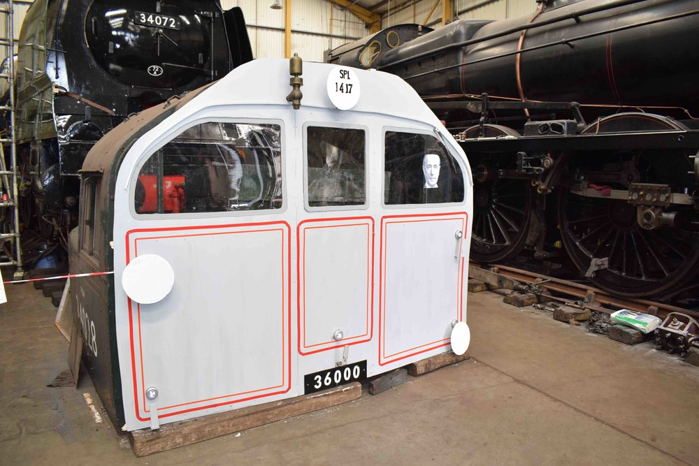 One of the new 'Leader's' cabs is already coming together inside Herston works at the Swanage Railway. It is pictured here on April 1. THOMAS BRIGHT