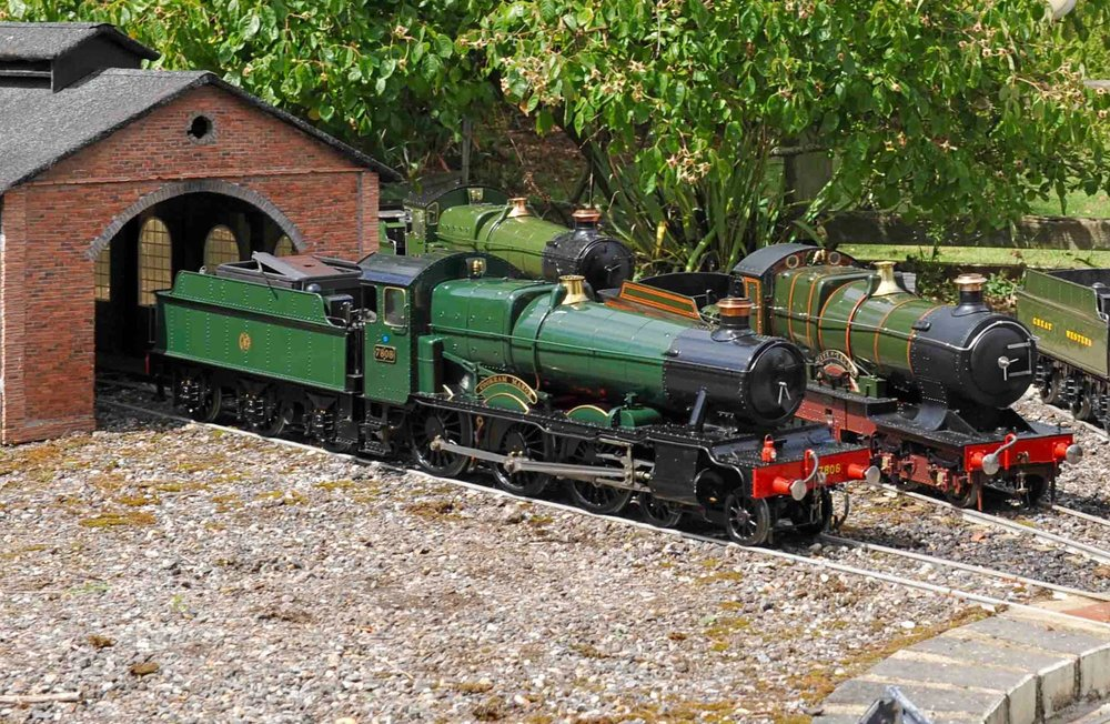 5in-gauge 'Manor' No. 7808  Cookham Manor  will be one of at least four miniature 'Manors' at the Kent & East Sussex Railway's 'Manors in Miniature' event on May 14. KESR