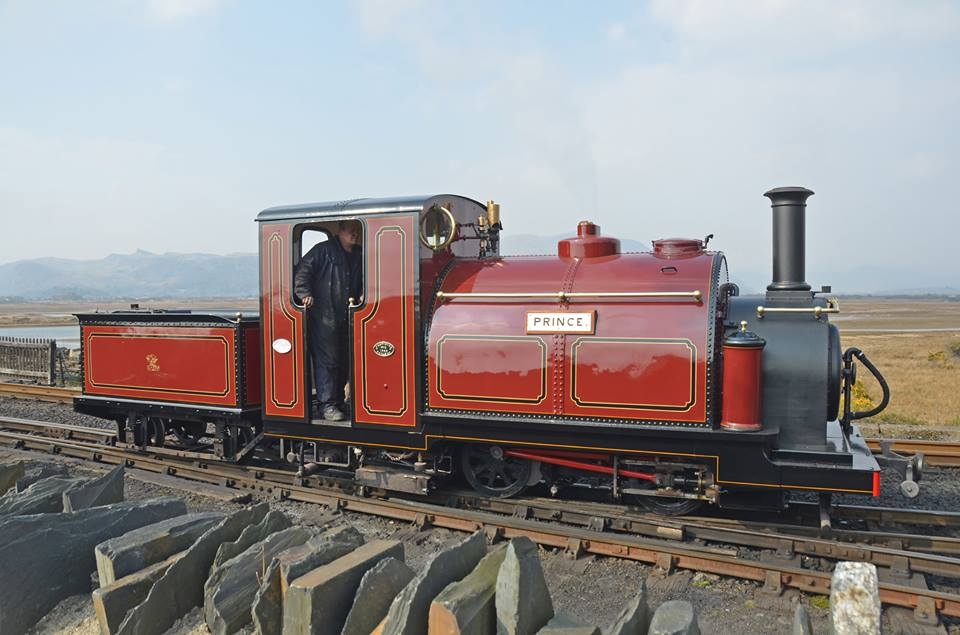 Ffestiniog Railway 'Small England' 0-4-0STT No.2 Prince, pictured at Boston Lodge on its home railway, is the fourth visiting locomotive to the Severn Valley Railway's 'Autumn Steam Gala' on September 21-24. FR