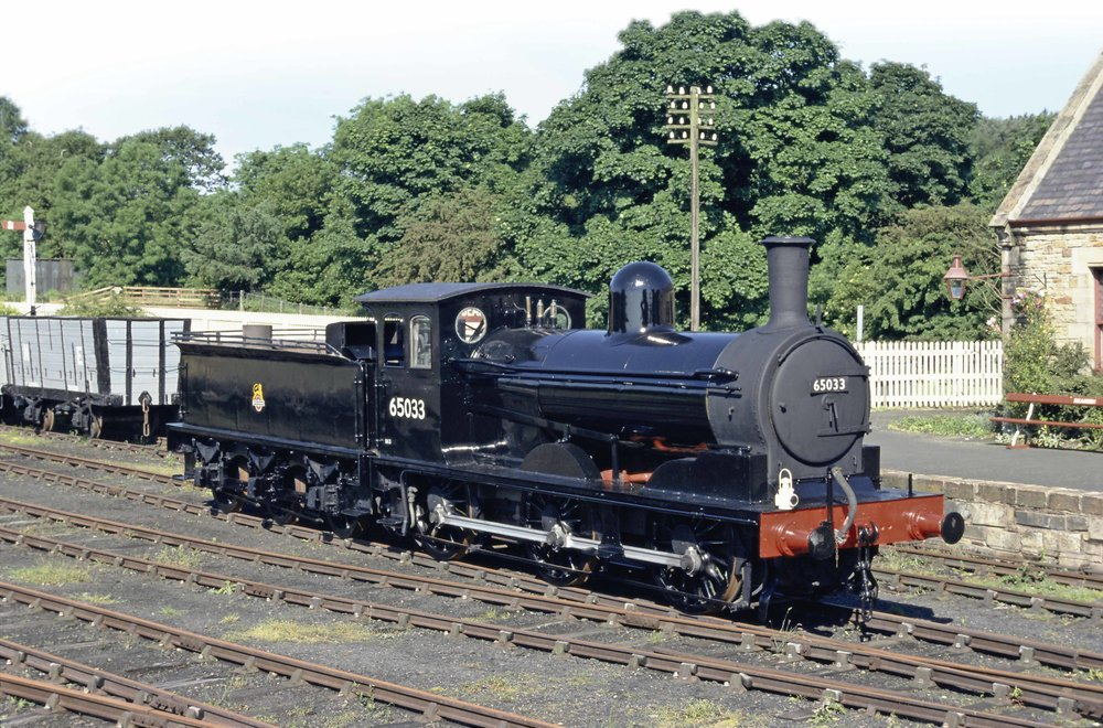 Steam Railway gave sole-surviving 'J21' No. 65033 a much-need repaint back in 2003. It is pictured at Beamish in BR unlined black in the summer of that year. MIKE WILD/SR