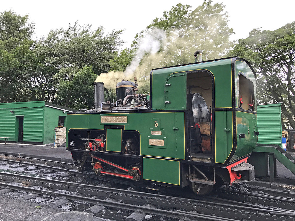 1896-built Snowdon Mountain Railway No. 5 Moel Siabod has returned to active service for the first time in 17 years. SMR