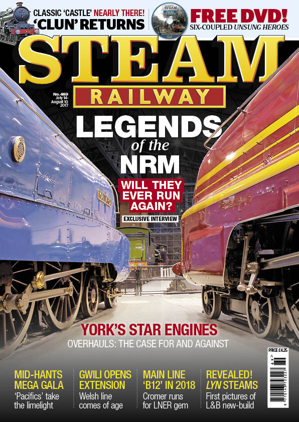 Steam Railway  SR469 – on sale NOW!