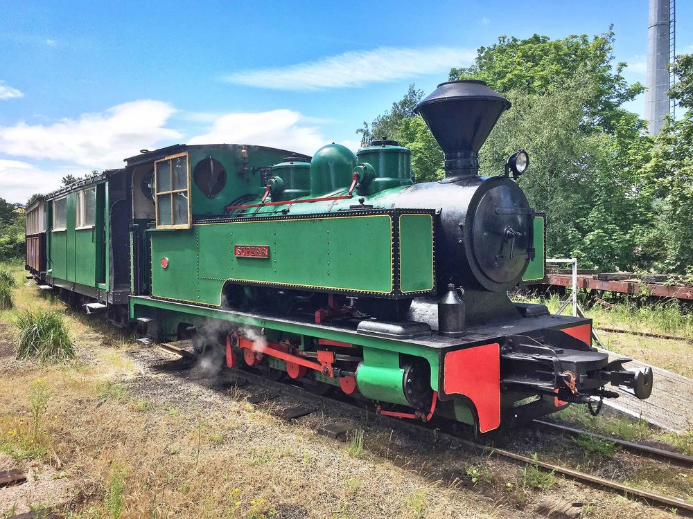 Sittingbourne & Kemsley Light Railway-based Bagnall 0-6-2T Superb is going to the Welshpool & Llanfair Light Railway's gala on September 1-3. PAUL BEST/SKLR