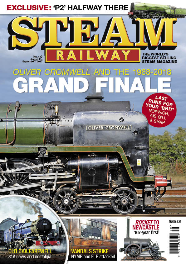 Steam Railway SR470 - On sale now!