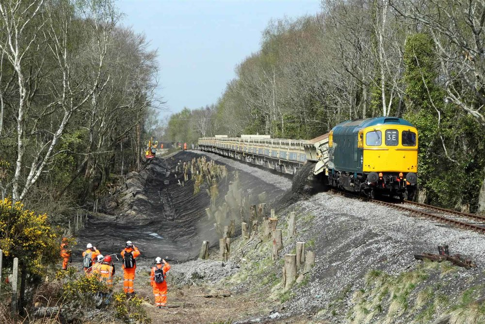 The Swanage Railway's £950,000 project to restore the link from Norden to Wareham has won the ICE's annual South West Engineering Award 2017. ANDREW P. M. WRIGHT