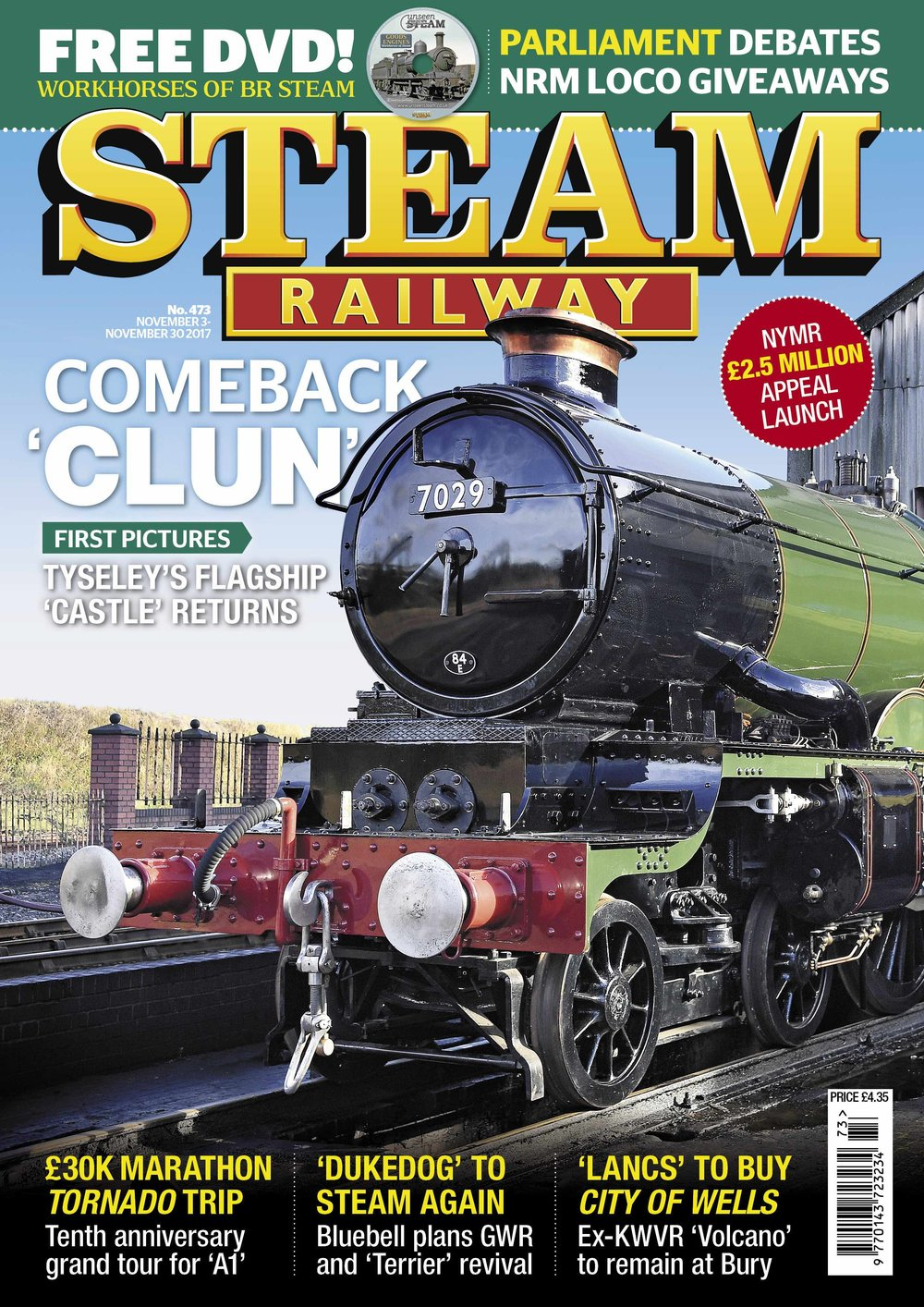 Steam Railway  SR473 – on sale now!