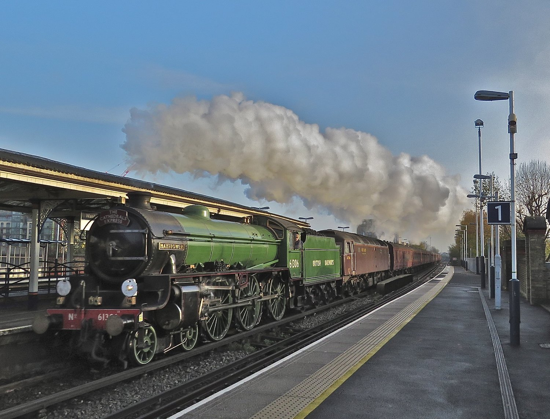 Image result for mayflower steam locomotive