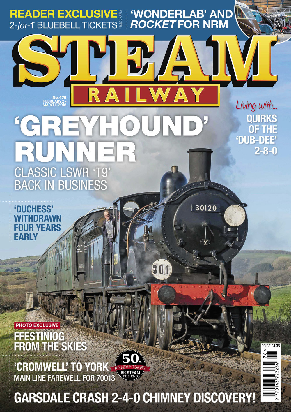 Steam Railway SR476 - On Sale Now!
