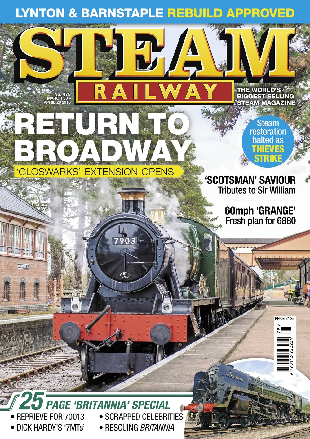 Steam Railway  SR478 - on sale NOW!