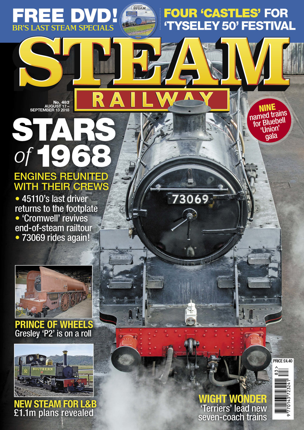Steam Railway  SR483 - on sale NOW!