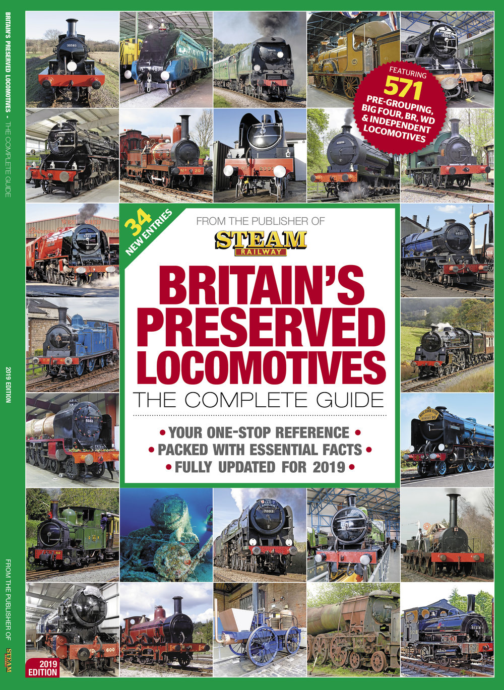 Britain's Preserved Locomotives: The Complete Guide  2019 Edition is on sale now!  Get your copy today.