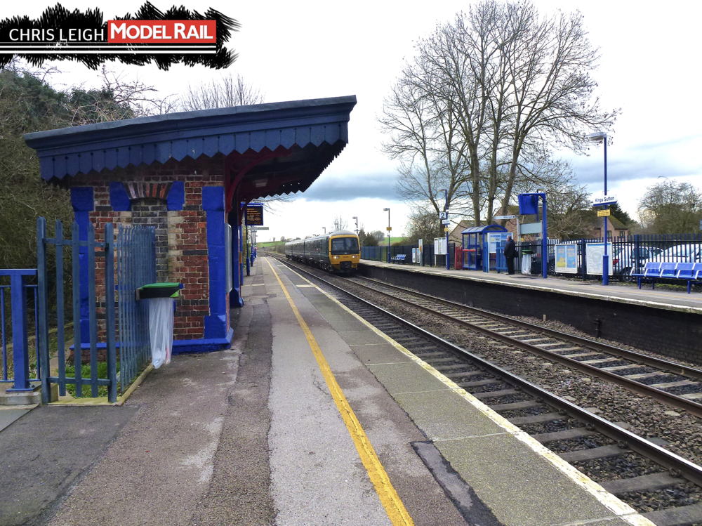 The down platform shelter at Kings Sutton still survives today. CHRIS LEIGH