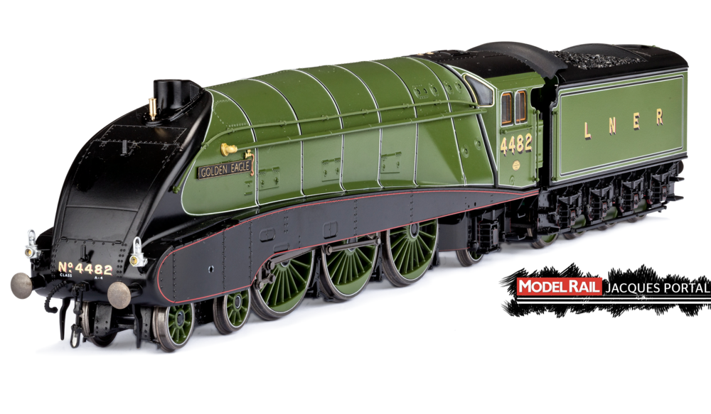 Dapol Black Label 'A4' 4-6-2 JACQUES PORTAL