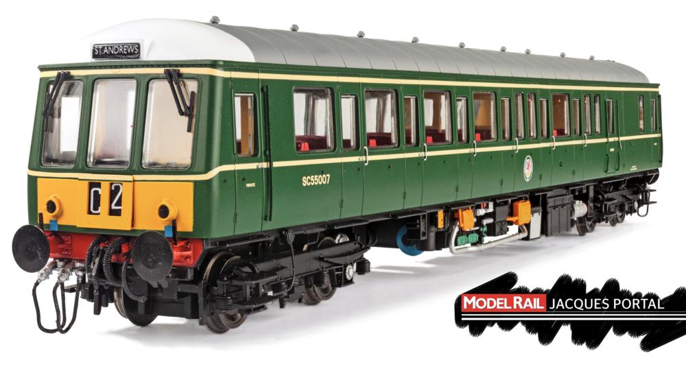 Dapol Class 122 JACQUES PORTAL