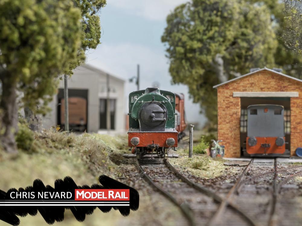All of Peter's locomotives are kit-built or scratchbuilt. CHRIS NEVARD