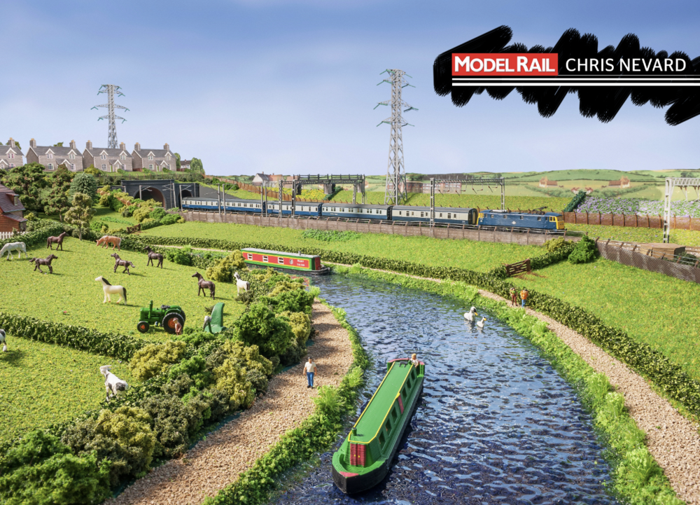 The West Coast Main Line running alongside the Grand Union Canal. CHRIS NEVARD