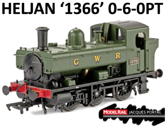 Features: Decoder socket fitted, six-pin decoder socket fitted detachable couplings in NEM pockets, sprung buffers