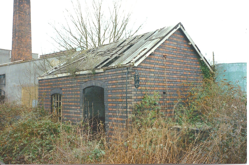 The distinctive 'striped' stable block as it was in 1996. (CHRIS LEIGH)