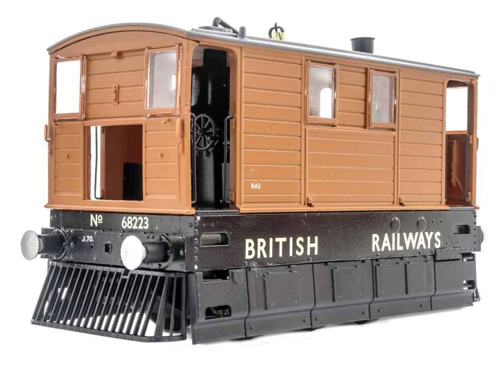 MR-205 No. 68223, british railways lettering, FULL SKIRTS