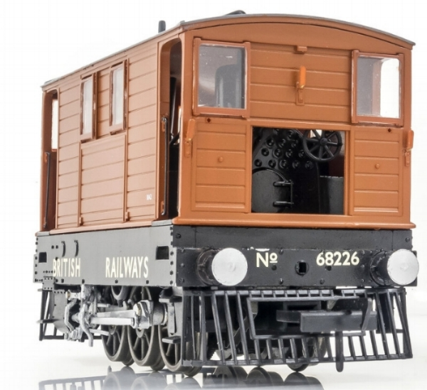 MR-204 no. 68226 british railways lettering, no skirts