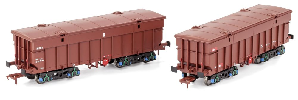 Irish Railway Models' Tara Mines bogie ore wagon