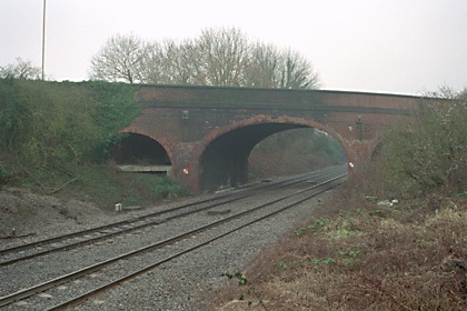 The Brunel bridge at Steventon. ENGLISH HERITAGE