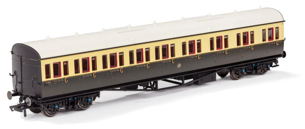 Hornby GWR non-corridor coach