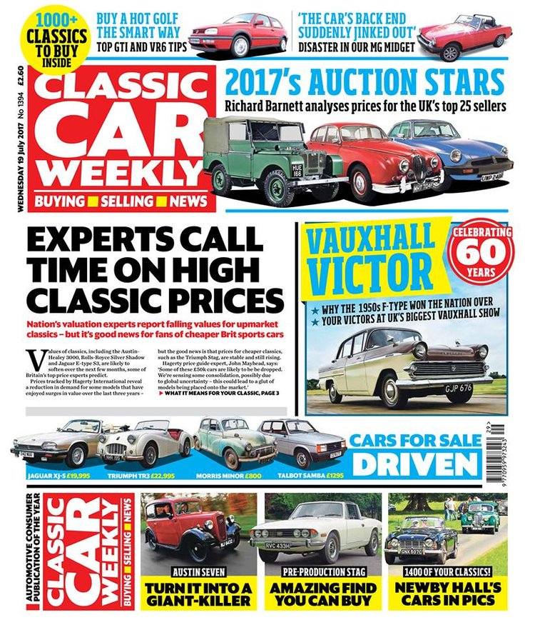 IN THIS WEEK\'S ISSUE - 19 JULY — Classic Car Weekly
