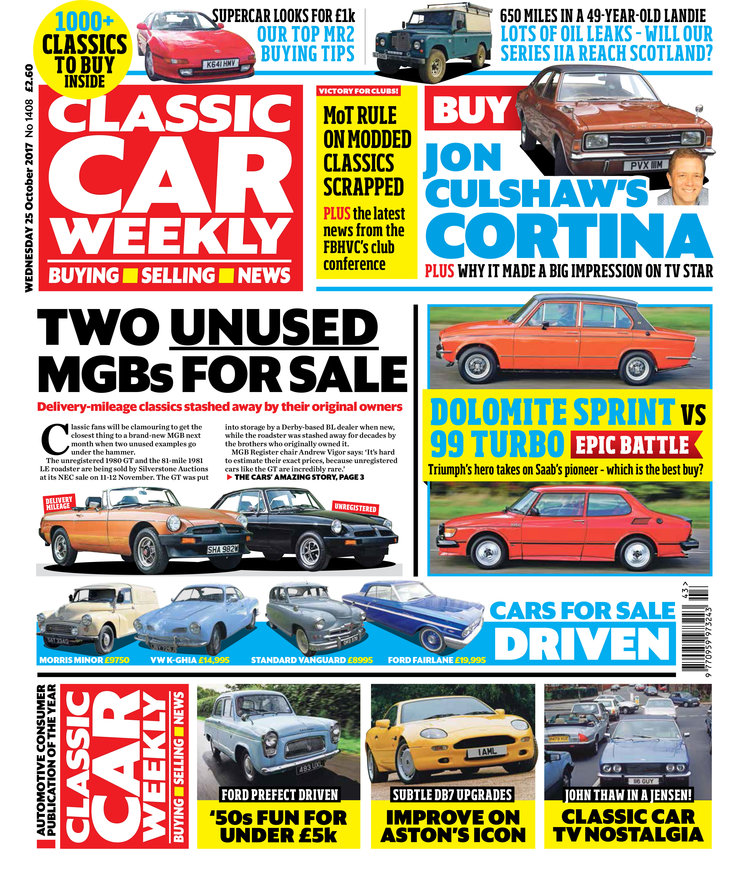 Here\'s what to look forward to in the 25 October issue of Classic ...