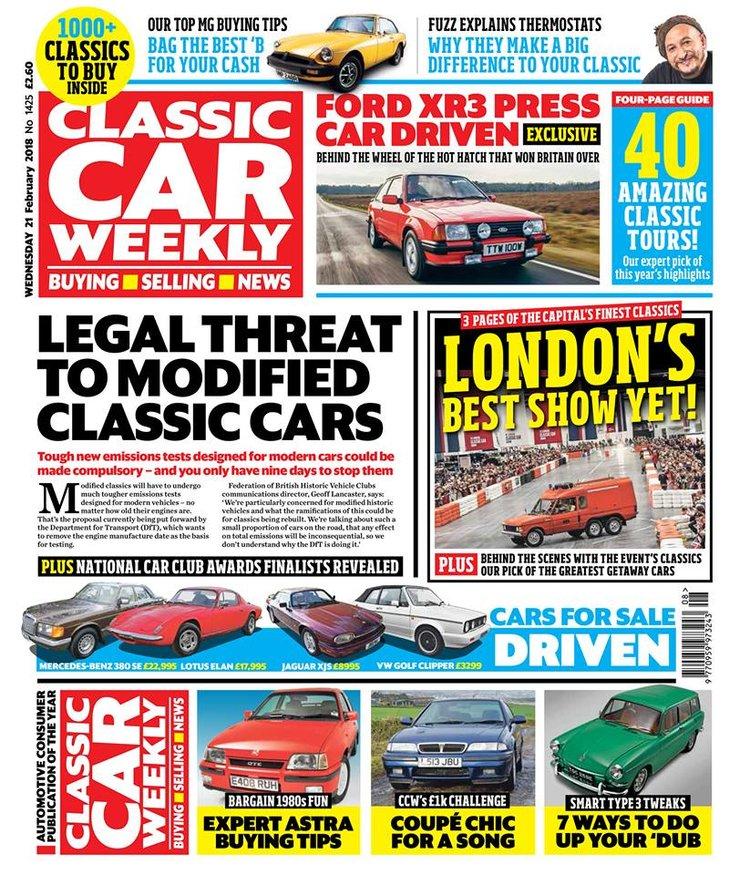 CLASSIC CAR WEEKLY - 21 FEBRUARY 2018 — Classic Car Weekly