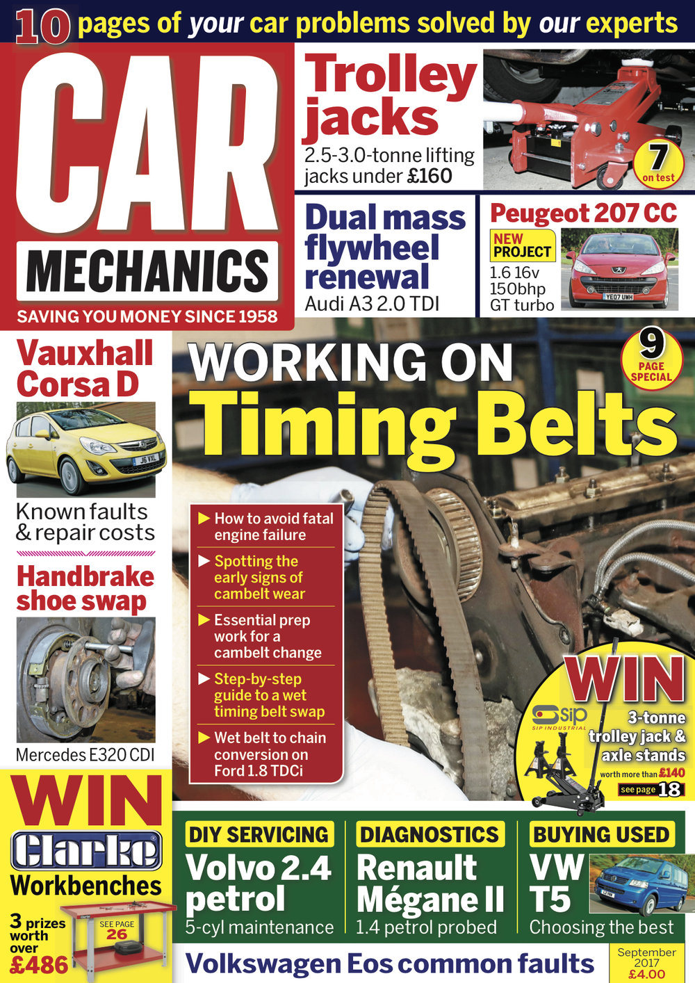 Latest Issue Car Mechanics Kia Sportage 2 0 Td Wiring Diagram Welcome To The September Of Our Main Feature This Month Looks At Timing Belts And Shows You How Keep Yours In Top Condition