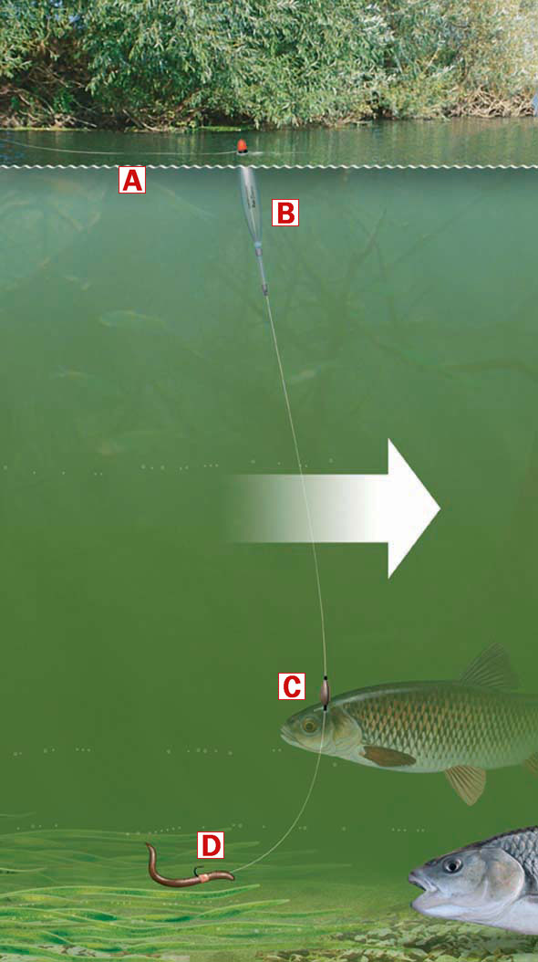 How To Use A Chubber Float For Fishing Shallow And Fast Rivers Or Streams Angling Times