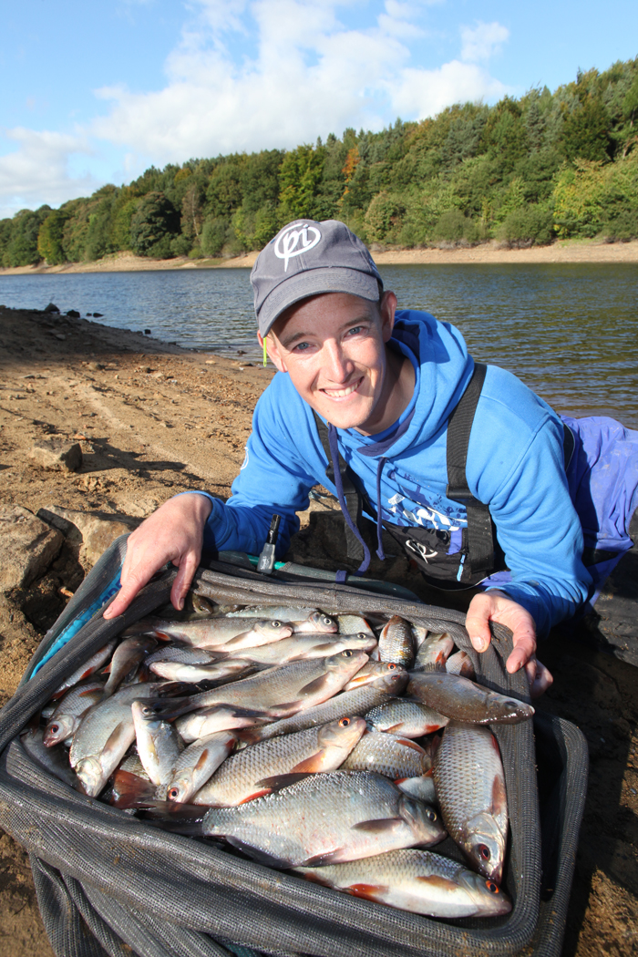 A fine net of silvers for Lee on his first visit to Damflask.