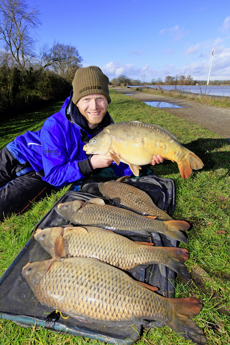 What a result! Five cracking carp fell to Rob's Method tactics at Boddington Reservoir.