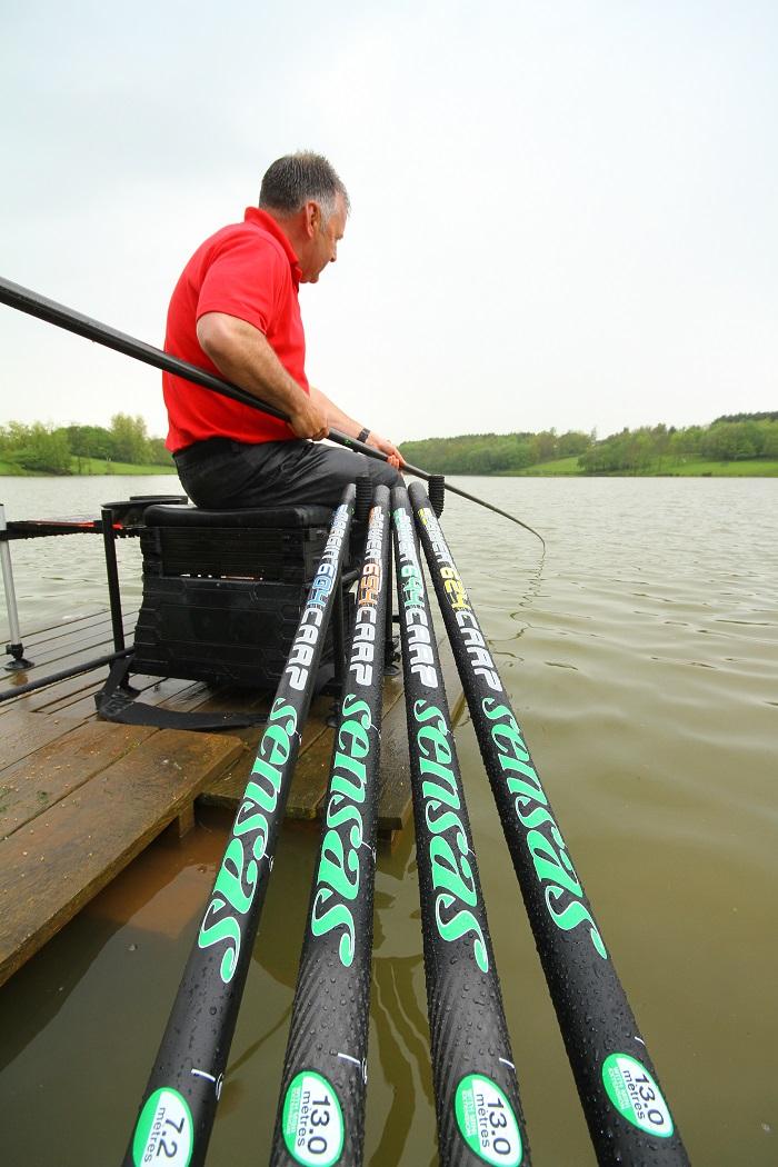Sensas power 654 carp angling times for Power pole fishing