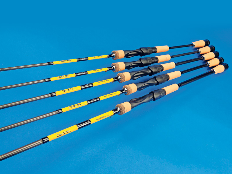 Daiwa specialist light lure dropshot rods angling times for Fishing rods near me
