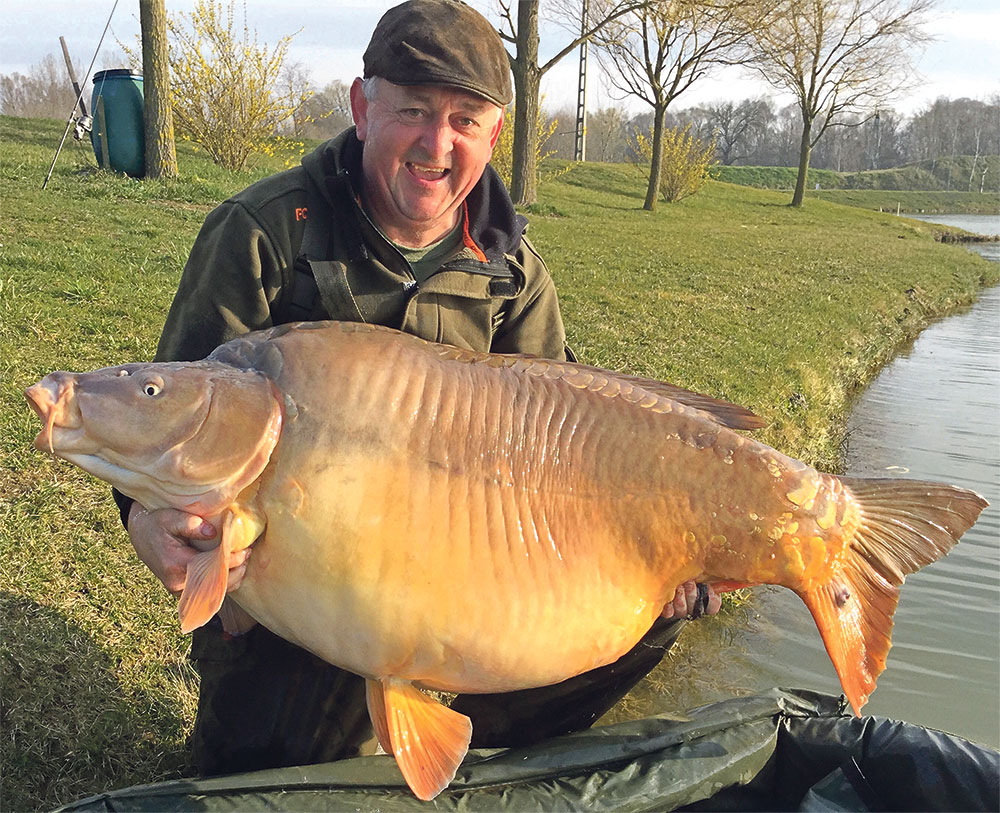 Brit s historic 101lb carp angling times for Bank fishing near me