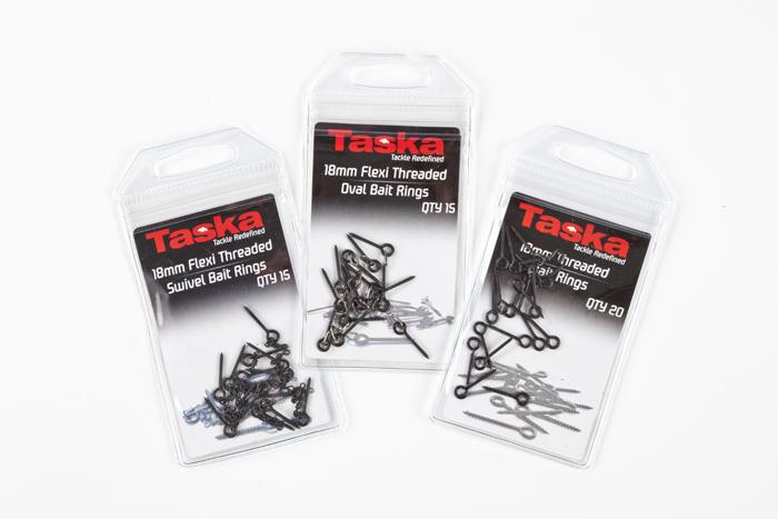 Carp Fishing Tackle Taska 18mm Threaded Bait Rings Screws Qty 20