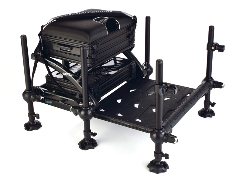Preston Innovations Absolute Station Black Edition Seatbox