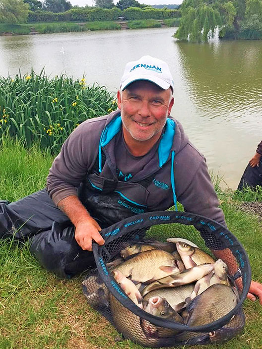 Chris Vandervleit – 218lb 8oz of silverfish.