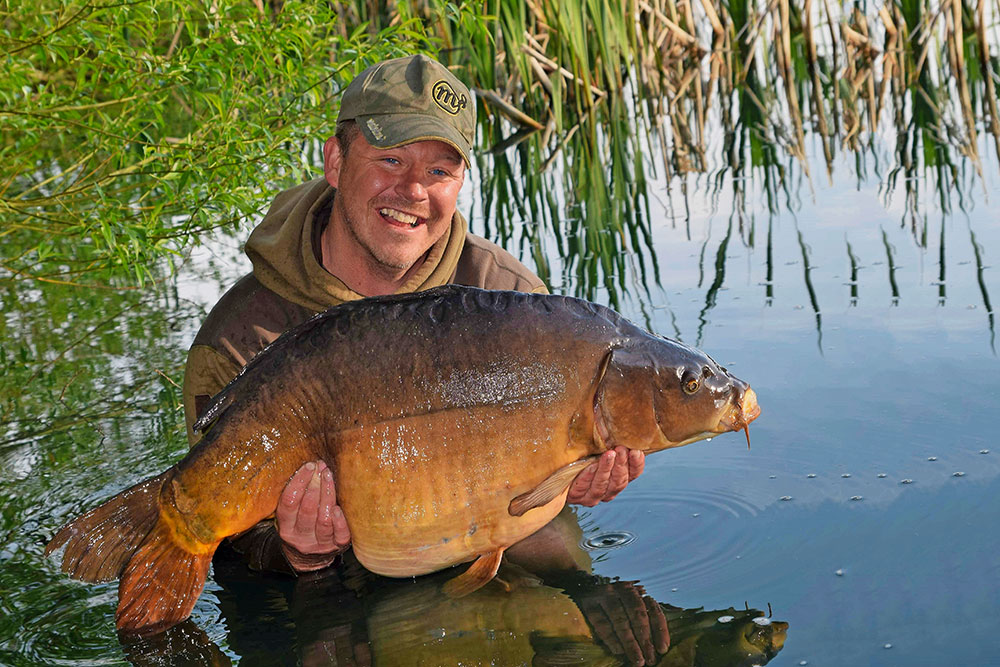The Ottered Mirror, out at 48lb 8oz.