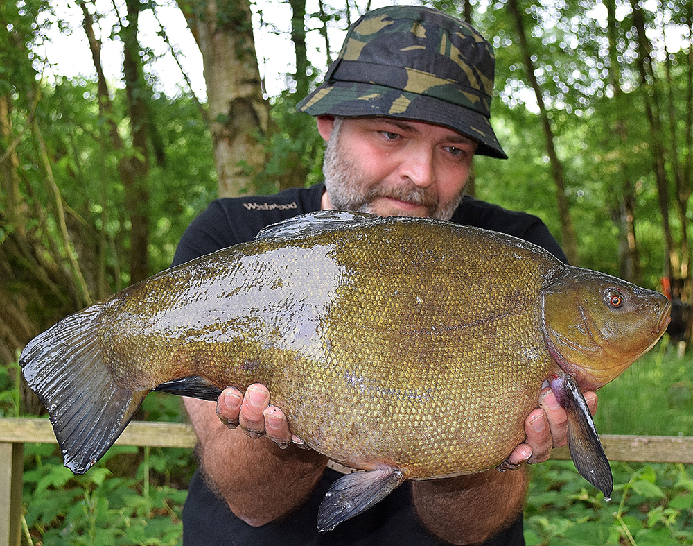 Rick Hurley's 12lb 3oz fish is one of the best so far this year