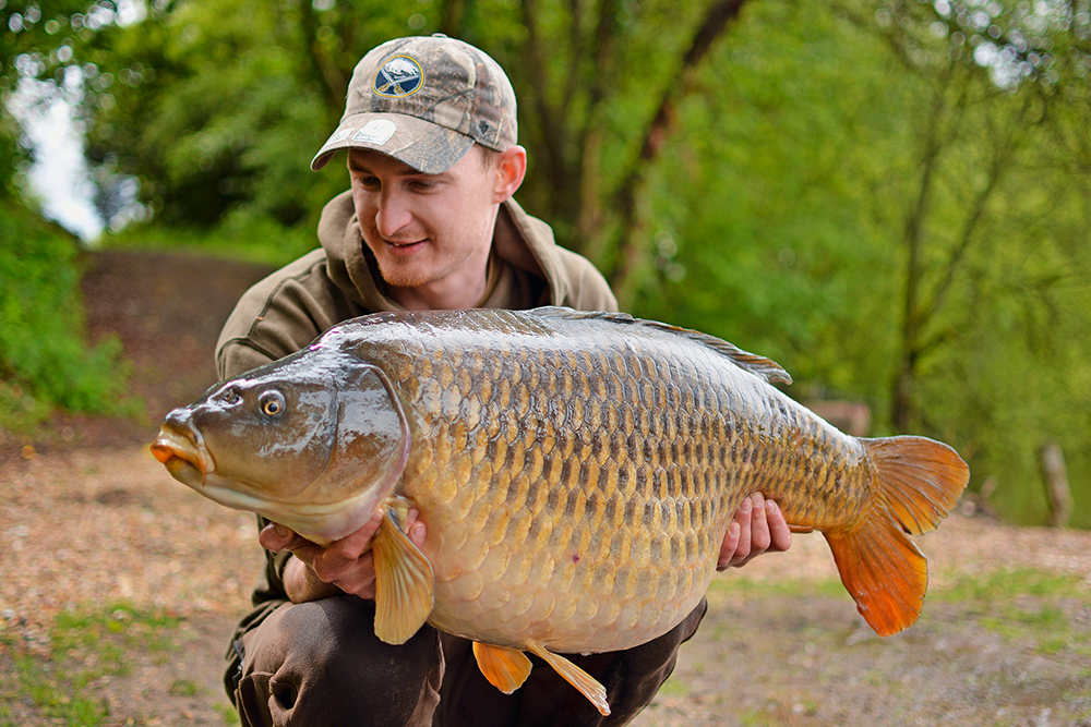 The 40lb 6oz Immaculate Common for Ross.