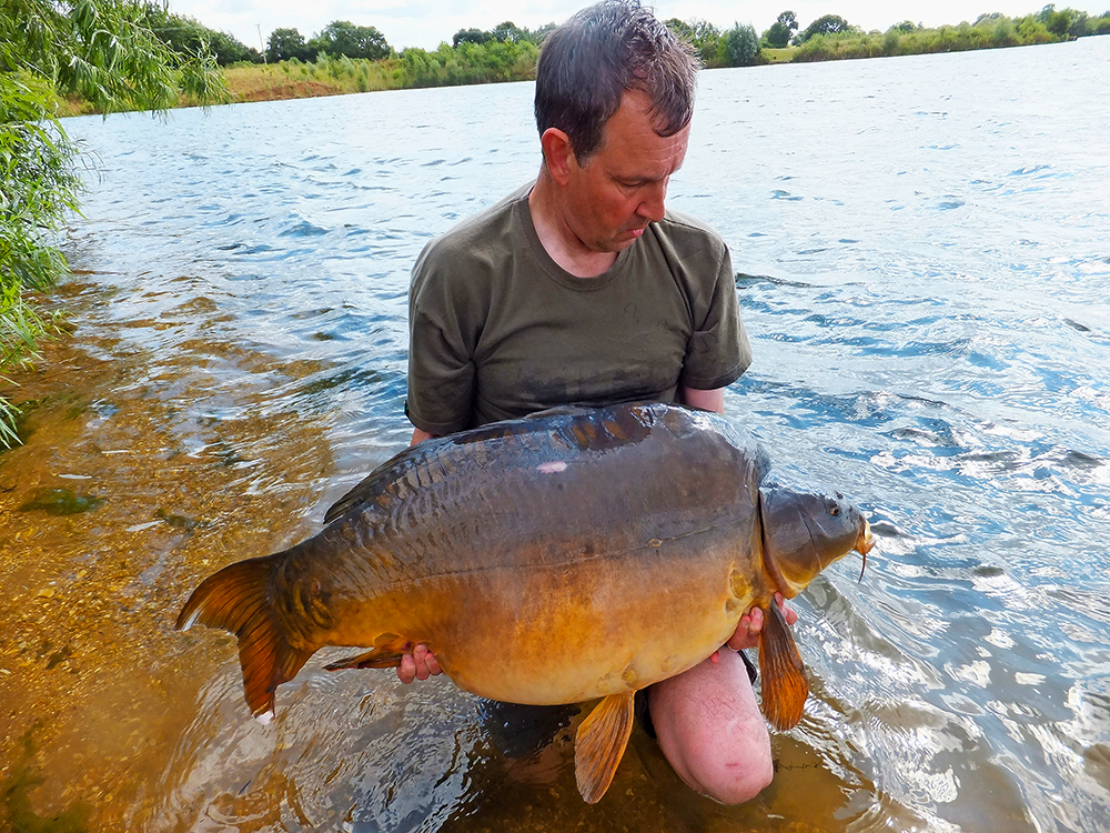 Barry Mann banked Captain Jack at a top weight 61lb 4oz.
