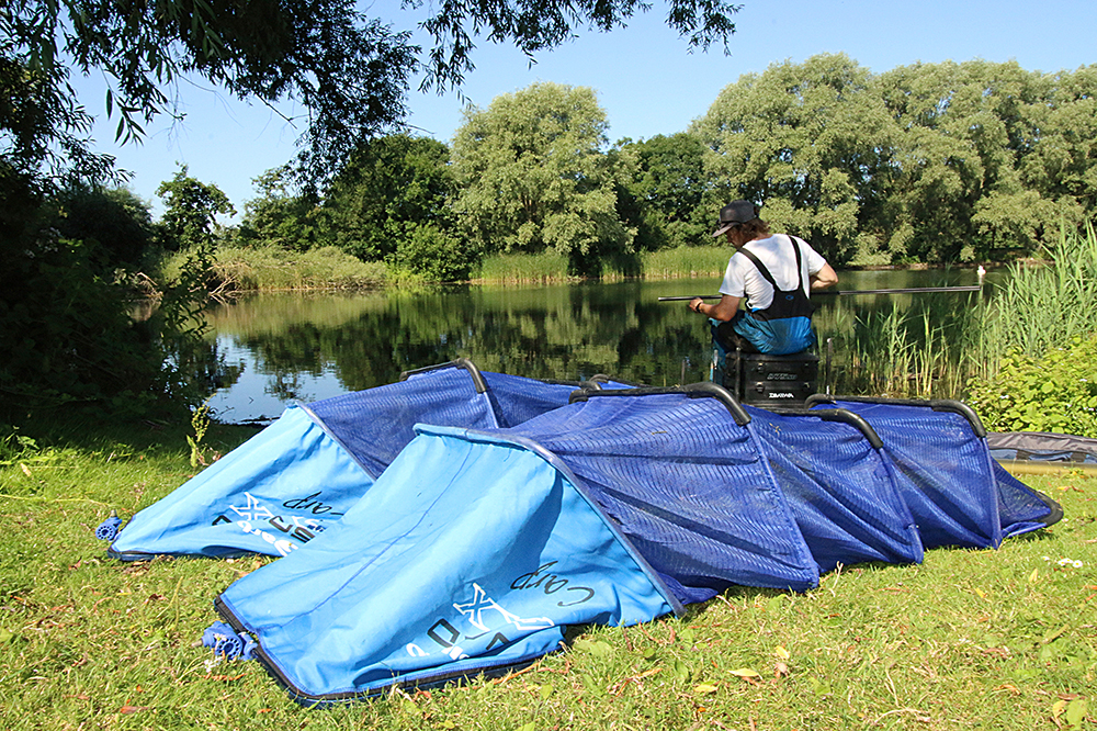 """Dry all nets and carp sacks thoroughly in sunlight. The UV light kills the virus"""