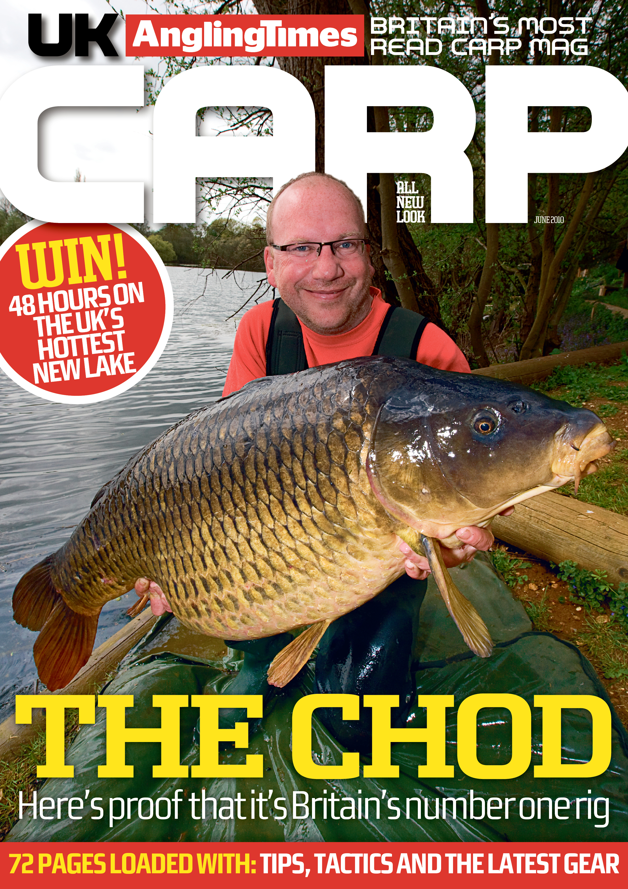 Free carp fishing tips magazine with this week 39 s angling for Free fishing magazines